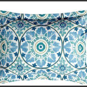Pottery Barn Bedding 2 Pillow Shams Beige Cotton Linen